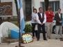 Homenaje y charla en la ciudad de Larroque