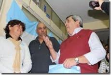 En Salud homenajearon a un ex combatiente de Malvinas