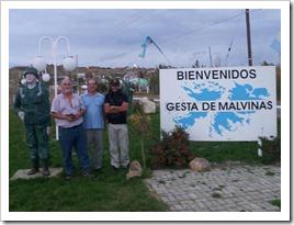 A un paso de Malvinas