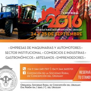 Exposición de la Sociedad Rural de Concepción del Uruguay 2016
